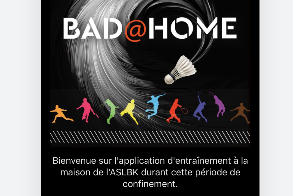 Application Bad@Home